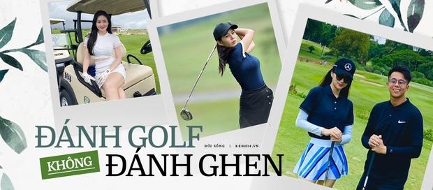 Hà Lade và vợ Tuấn Hưng đụng độ trên sân golf: Ai chơi giỏi hơn chưa biết nhưng đều xinh rồi đó - Ảnh 5.