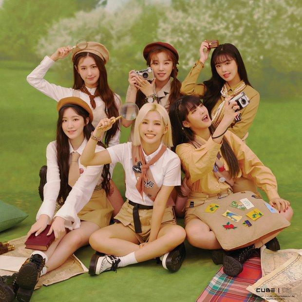 30 nhóm nhạc hot nhất Kpop: TWICE thăng hạng mạnh mẽ, IZ*ONE lọt top bất chấp gian lận, BTS giậm chân tại chỗ - Ảnh 8.