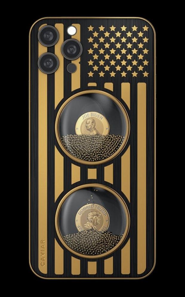 Đây là iPhone 12 Pro phiên bản Biden & Trump: Chỉ có 46 chiếc, giá từ 345 triệu đồng - Ảnh 2.