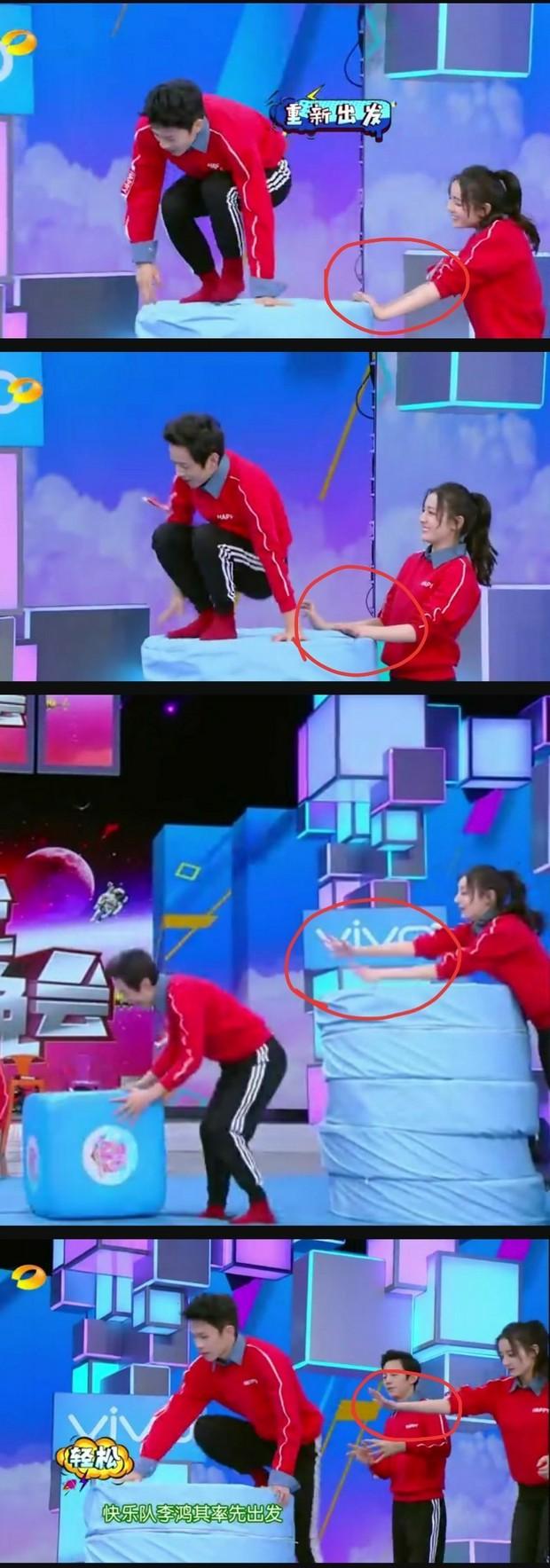 Cả Weibo xuýt xoa với loạt khoảnh khắc Địch Lệ Nhiệt Ba siêu ngầu: Dìu đỡ sao nữ, quan tâm từ chi tiết nhỏ nhất - Ảnh 11.