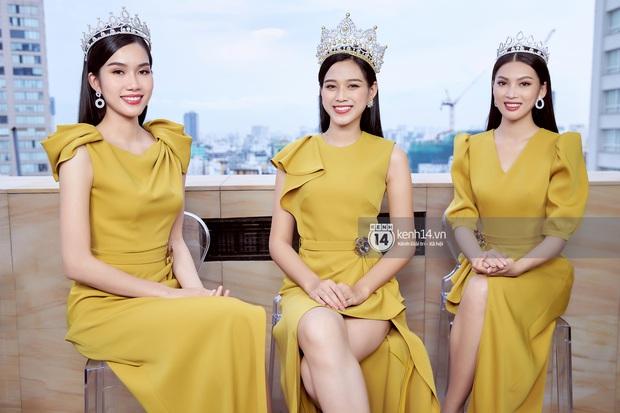 Livestream giao lưu với Top 3 Hoa hậu Việt Nam 2020: Đỗ Hà tiết lộ chuyện tình cảm, Á hậu 1 trổ tài bắn tiếng Anh cực đỉnh! - Ảnh 11.