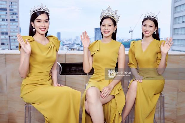 Livestream giao lưu với Top 3 Hoa hậu Việt Nam 2020: Đỗ Hà tiết lộ chuyện tình cảm, Á hậu 1 trổ tài bắn tiếng Anh cực đỉnh! - Ảnh 3.