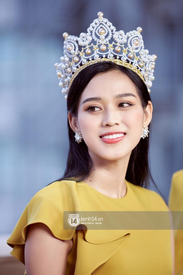 Livestream giao lưu với Top 3 Hoa hậu Việt Nam 2020: Đỗ Hà tiết lộ chuyện tình cảm, Á hậu 1 trổ tài bắn tiếng Anh cực đỉnh! - Ảnh 5.