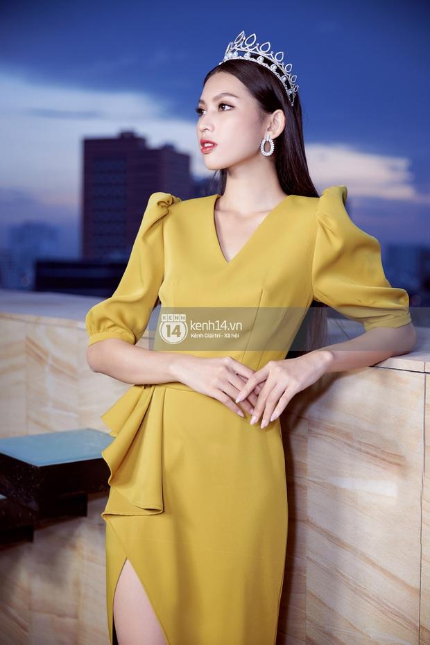 Livestream giao lưu với Top 3 Hoa hậu Việt Nam 2020: Đỗ Hà tiết lộ chuyện tình cảm, Á hậu 1 trổ tài bắn tiếng Anh cực đỉnh! - Ảnh 7.