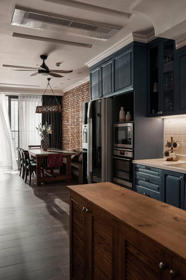 Đập thông hai căn chung cư, cặp vợ chồng có được ngôi nhà cực ưng ý, soi từng chi tiết lại càng ấn tượng - Ảnh 11.