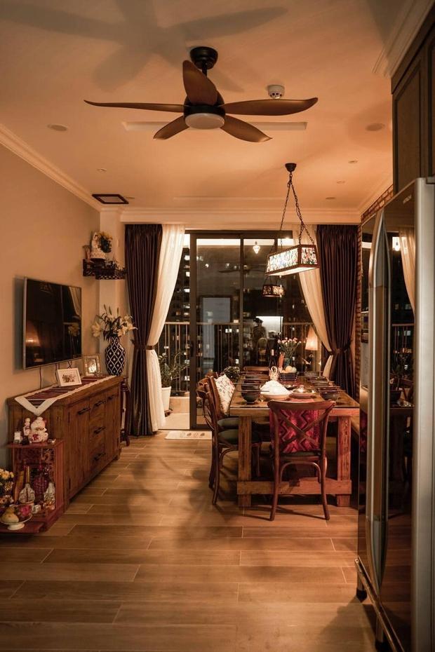 Đập thông hai căn chung cư, cặp vợ chồng có được ngôi nhà cực ưng ý, soi từng chi tiết lại càng ấn tượng - Ảnh 3.