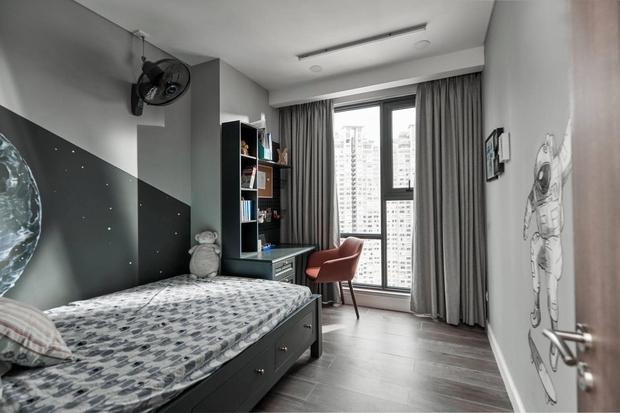 Đập thông hai căn chung cư, cặp vợ chồng có được ngôi nhà cực ưng ý, soi từng chi tiết lại càng ấn tượng - Ảnh 13.