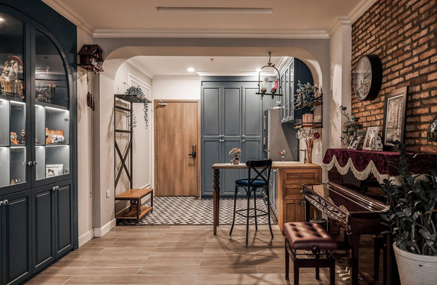 Đập thông hai căn chung cư, cặp vợ chồng có được ngôi nhà cực ưng ý, soi từng chi tiết lại càng ấn tượng - Ảnh 1.
