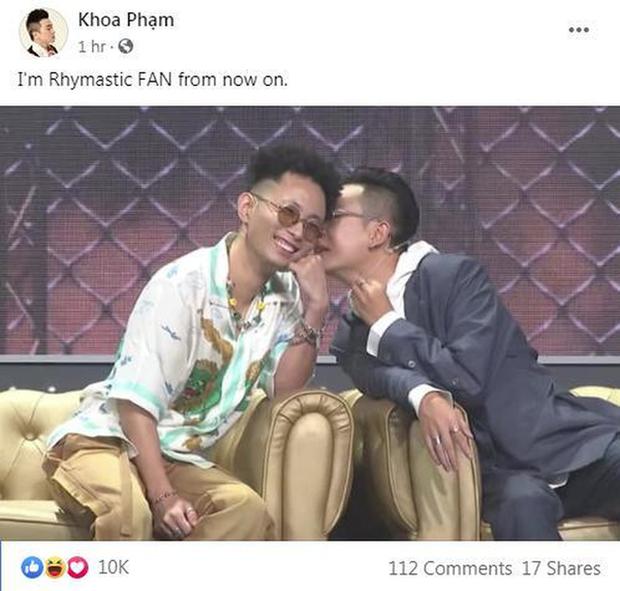 Thành công lớn của Rap Việt sau khi kết thúc hành trình: Tình bạn bắt đầu, hiềm khích được hoá giải! - Ảnh 5.