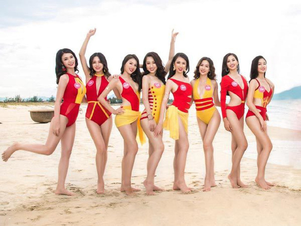 Những bộ áo tắm bị chê tả tơi tại các cuộc thi Hoa hậu, có bộ còn khiến thí sinh lộ hàng ngay tại chỗ - Ảnh 12.