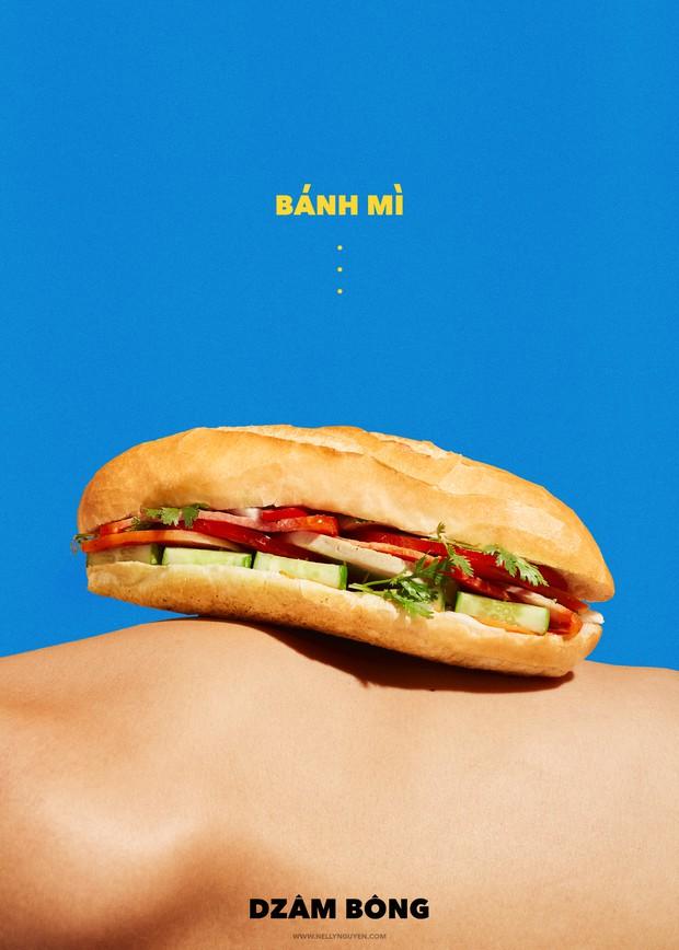 Tranh cãi dữ dội về bộ ảnh bánh mì: có sáng tạo nhưng đa phần gây sốc vì tạo hình quá phản cảm? - Ảnh 4.