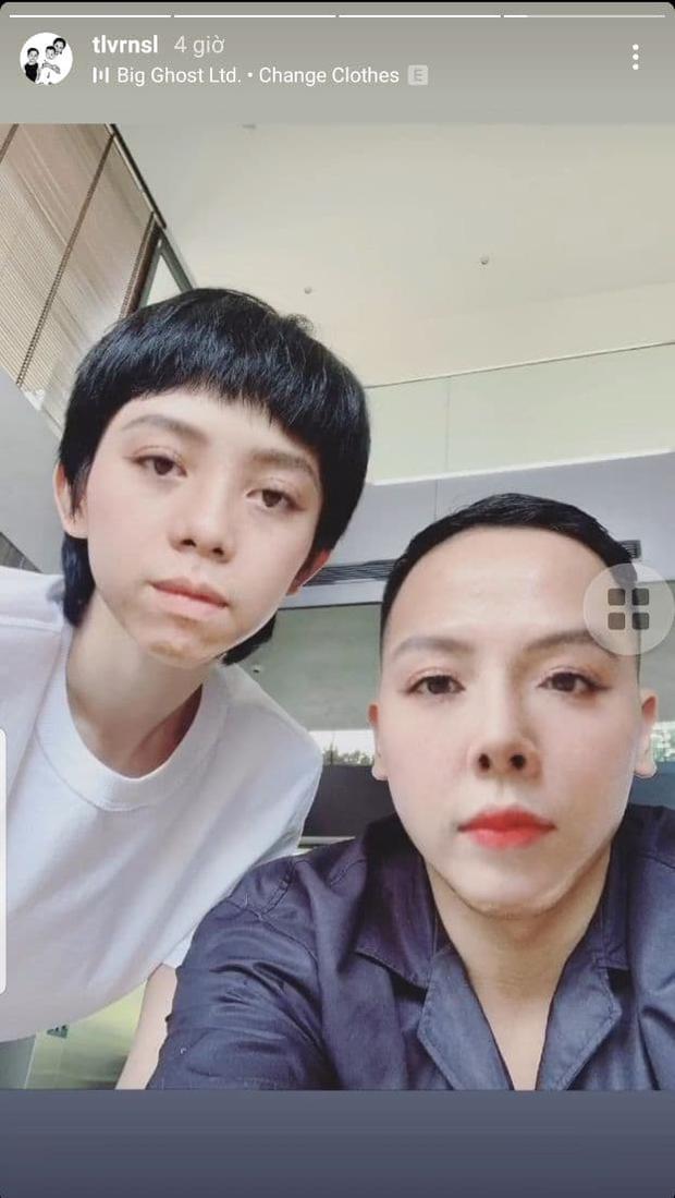 Tóc Tiên và Hoàng Touliver hiếm hoi đăng ảnh selfie bên nhau, ai dè khiến netizen giật mình vì gương mặt khác lạ? - Ảnh 2.
