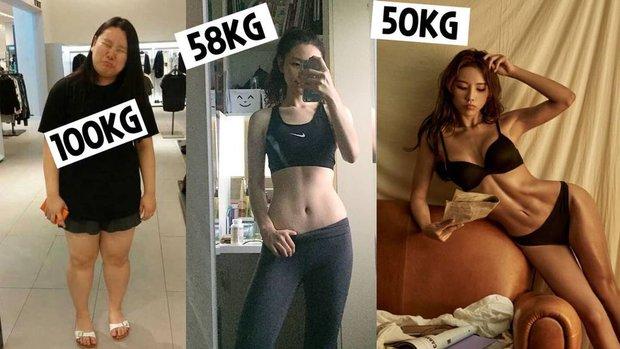 Giảm 50kg trong 2 năm nhưng lại mắc phải chứng biếng ăn, hotgirl Hàn rút ra 5 bí quyết giảm cân nhanh và lành mạnh - Ảnh 1.