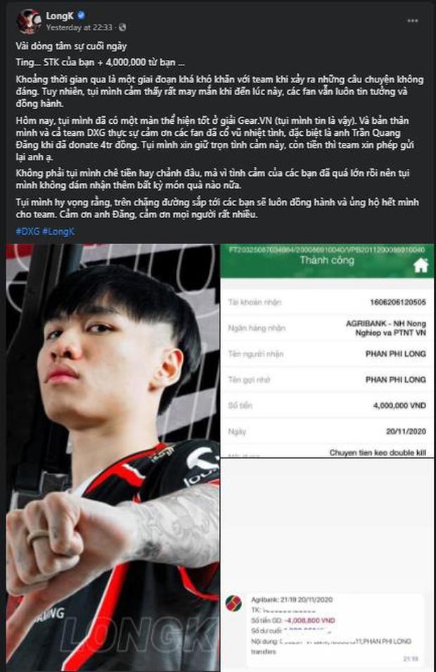 Lạ lẫm: Được donate 4 triệu đồng, game thủ nổi tiếng làng PUBG Việt liền... trả lại luôn - Ảnh 1.