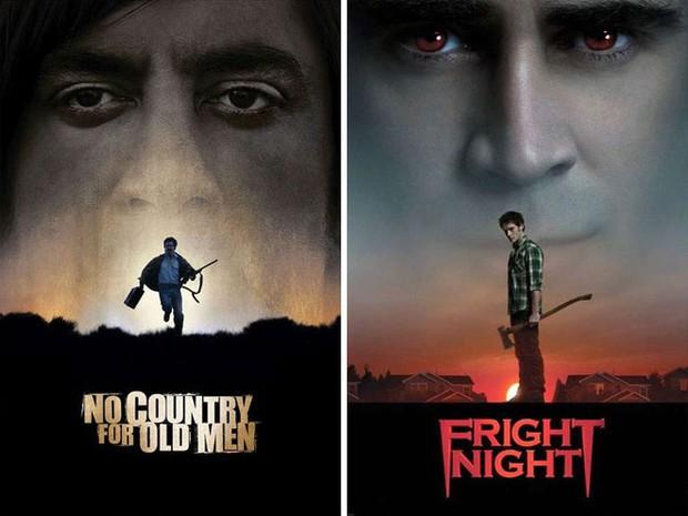 """Những pha """"mượn ý tưởng cực khét của designer khiến poster 2 bộ phim vốn không liên quan lại giống nhau đến kỳ lạ - Ảnh 22."""