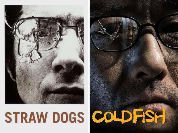 """Những pha """"mượn ý tưởng cực khét của designer khiến poster 2 bộ phim vốn không liên quan lại giống nhau đến kỳ lạ - Ảnh 23."""