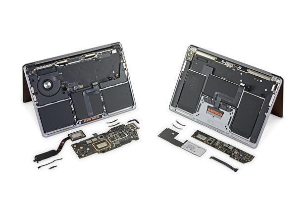 Bên trong máy MacBook mới chip M1 có gì? - Ảnh 4.