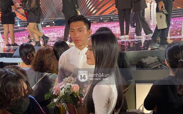 Doãn Hải My đơ toàn tập khi bất ngờ được hỏi thân với Văn Hậu lâu chưa ở đêm Chung kết Hoa hậu Việt Nam - Ảnh 6.
