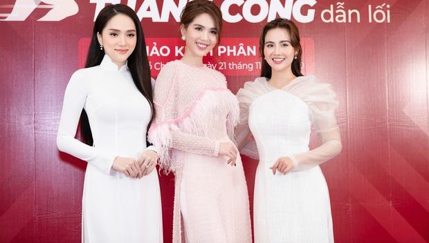 Hương Giang lần đầu dự sự kiện sau drama với antifan, để lộ thần sắc khác 180 độ so với Ngọc Trinh - Huyền Lizzie - Ảnh 2.