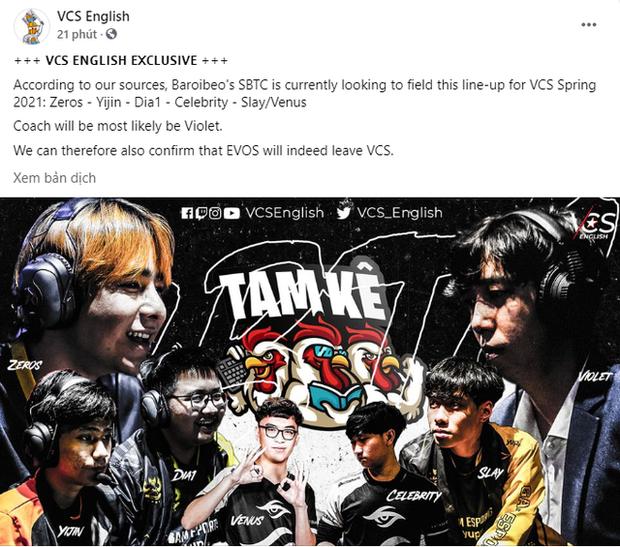 BLV Hoàng Luân: Có Zeros và Dia1 thì SBTC Esports chắc chắn nằm trong top 2 đội mạnh nhất VCS - Ảnh 4.
