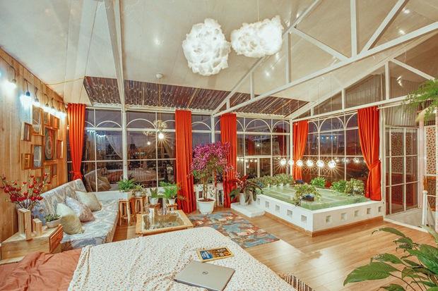 Chi 250 triệu, cô nàng biến tầng thượng thành penthouse giữa lòng Hà Nội, sáng tạo nhất là bể cá Koi - Ảnh 22.