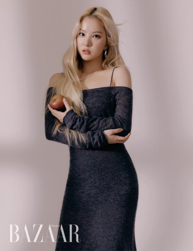 GFRIEND lột xác táo bạo trên tạp chí: Nữ idol xấu nhất lịch sử nhận không ra vì lột xác hút hồn, Yerin e ấp vòng 1 xịt máu mũi - Ảnh 5.