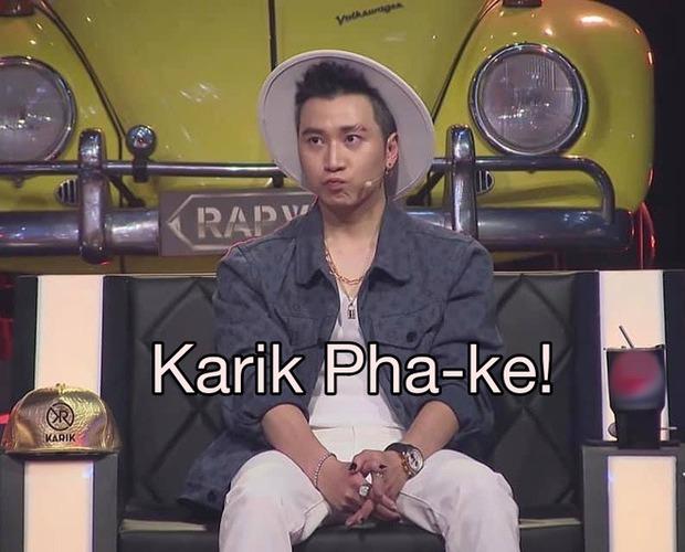 Buồn của Karik: Bị fan nhí gặp trực tiếp mà khẳng định là pha-ke, tuyên bố Karik tại Rap Việt đẹp trai hơn gấp 1000 lần! - Ảnh 7.