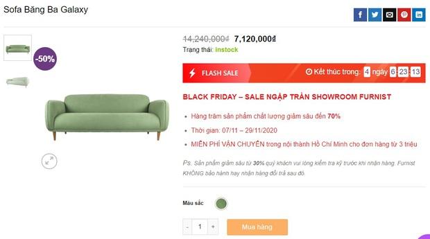 """Nhiều mẫu sofa đang sale """"đậm sâu"""" tới 50% cực đáng sắm - Ảnh 3."""