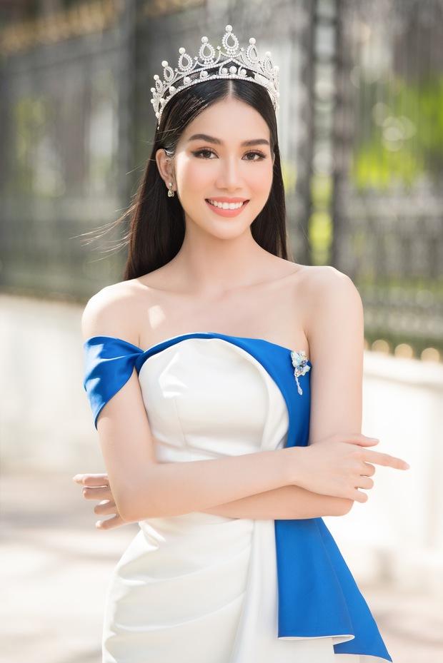 HOT: Á hậu 1 Phương Anh vừa đăng quang đã dẫn đầu BXH của fan sắc đẹp quốc tế, Giám đốc truyền thông Miss International khen tới tấp! - Ảnh 5.