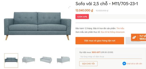 """Nhiều mẫu sofa đang sale """"đậm sâu"""" tới 50% cực đáng sắm - Ảnh 13."""