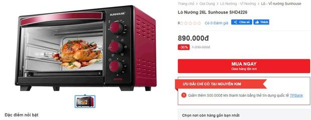 Loạt lò nướng sale đậm giá sốc cuối năm: Chỉ từ 399k là rinh được hàng ngon - Ảnh 5.