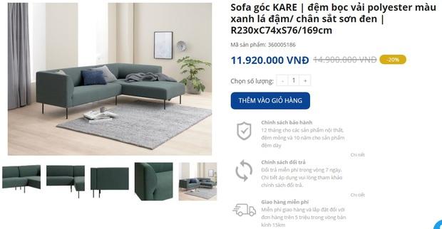 """Nhiều mẫu sofa đang sale """"đậm sâu"""" tới 50% cực đáng sắm - Ảnh 11."""