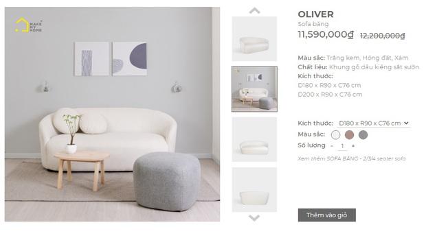 """Nhiều mẫu sofa đang sale """"đậm sâu"""" tới 50% cực đáng sắm - Ảnh 9."""