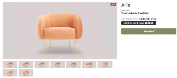 """Nhiều mẫu sofa đang sale """"đậm sâu"""" tới 50% cực đáng sắm - Ảnh 7."""