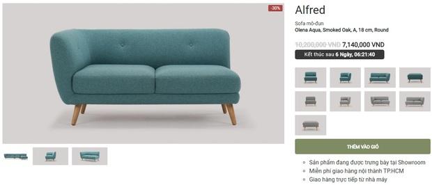 """Nhiều mẫu sofa đang sale """"đậm sâu"""" tới 50% cực đáng sắm - Ảnh 5."""