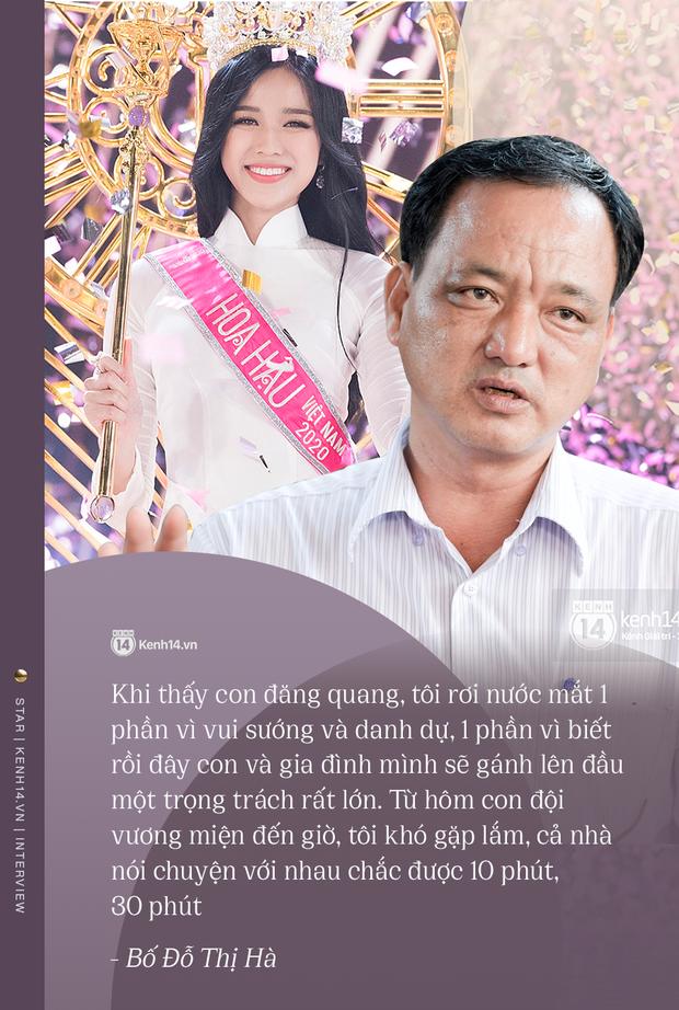 Độc quyền phỏng vấn bố mẹ Đỗ Thị Hà: Hé lộ lý do bật khóc ở đêm Chung kết, làm rõ loạt ồn ào và tình trạng yêu đương của Tân Hoa hậu - Ảnh 6.