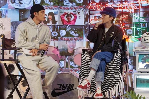 G-Dragon lại một lần nữa gây sốt với phối màu hoàn toàn mới của PEACEMINUSONE x Nike AF1 Para-Noise 2.0 - Ảnh 3.
