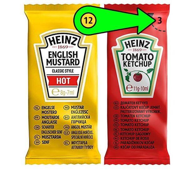 Con số bí mật trên các túi đựng tương cà nổi tiếng của Heinz và lời giải đáp khiến ai cũng phải ngỡ ngàng - Ảnh 2.