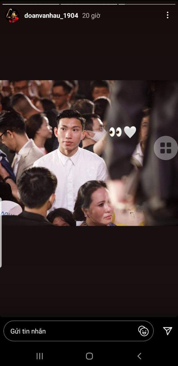 Ra mà xem Đoàn Văn Hậu quăng thính lộ liễu cho Doãn Hải My qua khoảnh khắc tìm kiếm tình yêu trong đêm Chung kết HHVN - Ảnh 2.