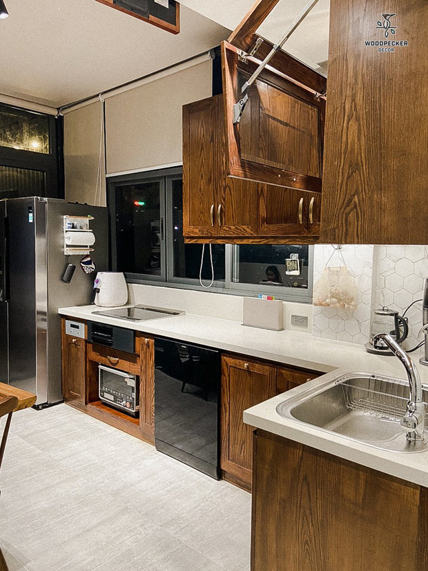 Nhờ đến 2 đội thiết kế, cặp vợ chồng có được ngôi nhà cưng như con, ngắm khu vực bếp mới hiểu vì sao - Ảnh 14.