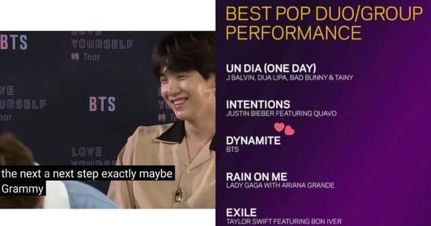 Suga muốn điều gì, BTS sẽ làm được điều đó: Từ kỷ lục no.1 Billboard cho đến đề cử Grammy lịch sử đều khiến fan rùng mình - Ảnh 4.
