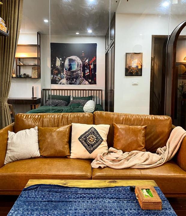 Ra riêng, chàng trai mua căn hộ 77m2 cực chóng vánh, quyết định đập thông 2 căn phòng để rộng rãi nhất có thể - Ảnh 4.