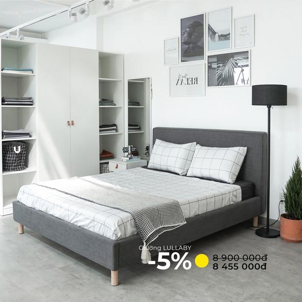 7 mẫu giường ngủ đang được sale mạnh đến 50%, tiết kiệm ngay bạc triệu - Ảnh 7.
