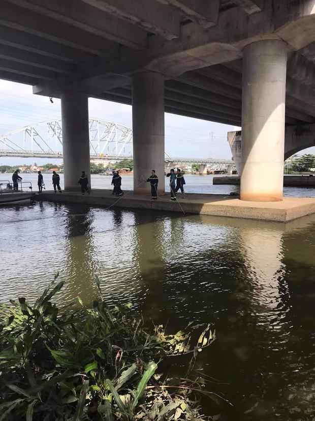 Bỏ lại quần áo và thư tuyệt mệnh, thanh niên gieo mình xuống sông Sài Gòn tự tử - Ảnh 1.