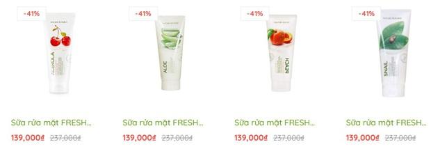 Sữa rửa mặt chính hãng sale mạnh, toàn loại xịn sò mà giá chỉ từ 139k - Ảnh 1.