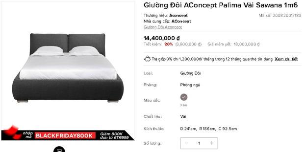7 mẫu giường ngủ đang được sale mạnh đến 50%, tiết kiệm ngay bạc triệu - Ảnh 13.