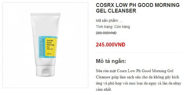 Sữa rửa mặt chính hãng sale mạnh, toàn loại xịn sò mà giá chỉ từ 139k - Ảnh 5.