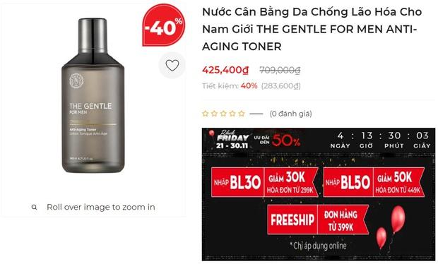 Toner chính hãng sale đến 40%: Thu nhỏ lỗ chân lông, làm sáng da hay trị mụn đều có cả - Ảnh 5.