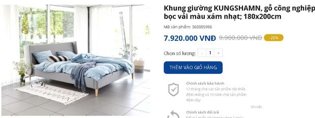 7 mẫu giường ngủ đang được sale mạnh đến 50%, tiết kiệm ngay bạc triệu - Ảnh 5.