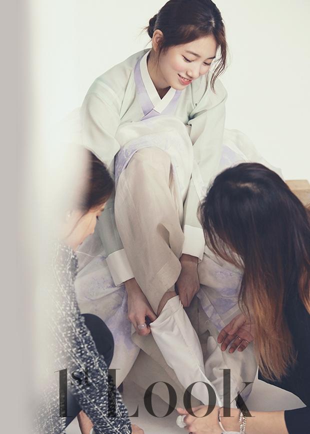 Hot lại bộ ảnh Hanbok huyền thoại của Suzy, sự việc đằng sau hậu trường qua lời kể của ekip gây xôn xao dư luận - Ảnh 12.